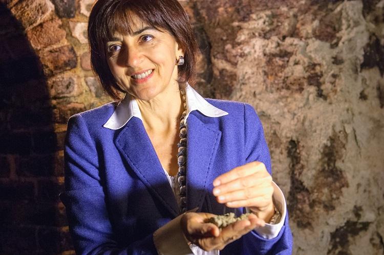 Ornella Correggia, titolare dell'Azienda Agricola Matteo Correggia di Canale d'Alba