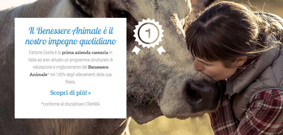Fattorie Osella | Campagna focalizzata sul benessere animale