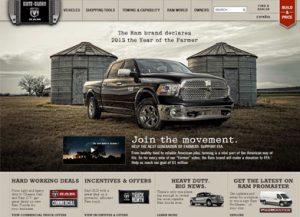 Home page sito Ram Truks