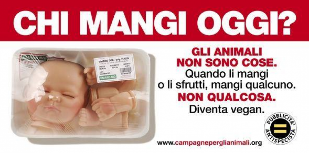 Manifesto 6x3 alimentazione vegana