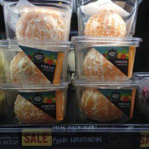Pack arancia sbucciata